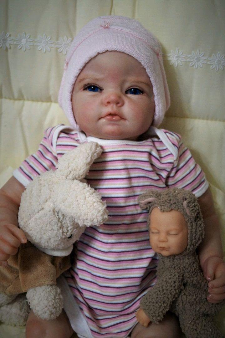 Кукла реборн Белла-2 от Марины Рябушкиной, Куклы Reborn, Дмитров,  Фото №1