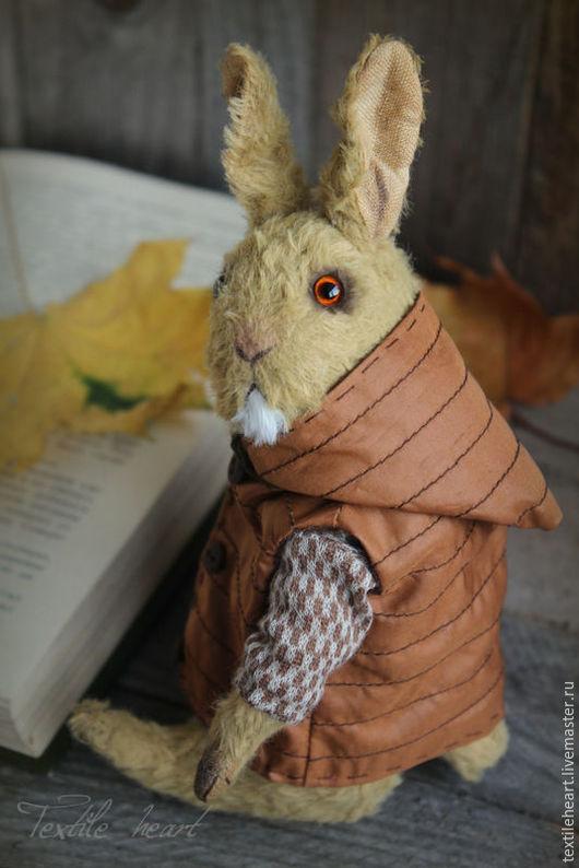 Мишки Тедди ручной работы. Ярмарка Мастеров - ручная работа. Купить Горчичный кролик, брат Серого кролика. Handmade. Коричневый