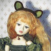 Куклы и игрушки ручной работы. Ярмарка Мастеров - ручная работа Шарнирная  кукла Кет.Повтор.. Handmade.