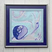 Картины и панно ручной работы. Ярмарка Мастеров - ручная работа живопись на воде 6. Handmade.
