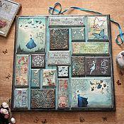 Картины и панно handmade. Livemaster - original item She believed in wings. Panel decoupage. Handmade.