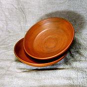 Посуда ручной работы. Ярмарка Мастеров - ручная работа Тарелки простые. Handmade.