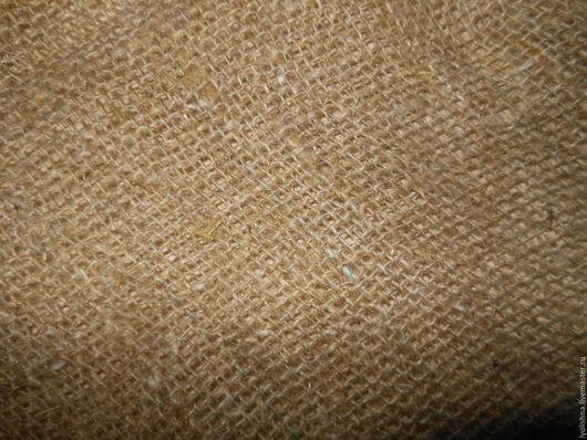 Шитье ручной работы. Ярмарка Мастеров - ручная работа. Купить Мешковина ткань. Handmade. Серый, ткань, лен натуральный