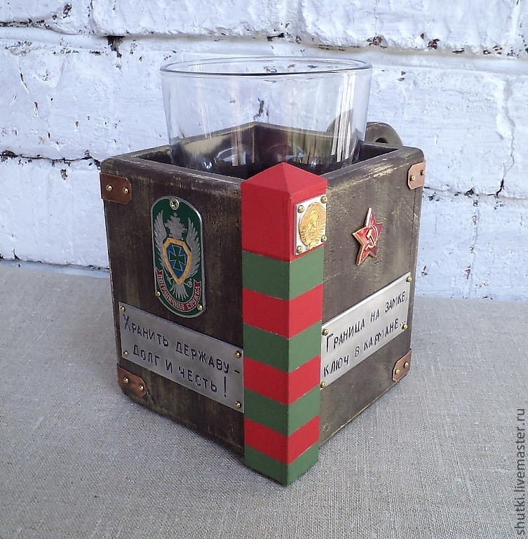 Сладкий подарок пограничнику 44
