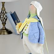 Куклы и игрушки handmade. Livemaster - original item Easter Textile Bunny ( rabbit ) Oliver. Handmade.