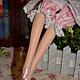 Куклы Тильды ручной работы. Тильда,,Мисс Рози,,. Елена (elenadollworld). Интернет-магазин Ярмарка Мастеров. Розовый, пепельный