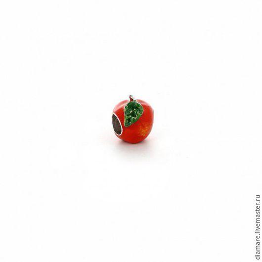 Серебряный Шарм Спелое яблоко. Арт. 05-0229