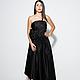 Платья ручной работы. Шикарное вечернее платье. ELLARIO бутик-ателье. Интернет-магазин Ярмарка Мастеров. Однотонный