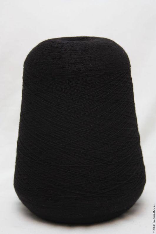 Вязание ручной работы. Ярмарка Мастеров - ручная работа. Купить Жасмин (Турция). Handmade. Черный, турецкая пряжа, пряжа на бобинах