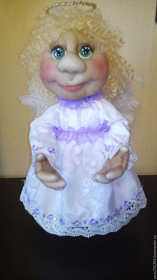Коллекционные куклы ручной работы. Ярмарка Мастеров - ручная работа. Купить Нежный ангел. Handmade. Белый, подарок, синтепон