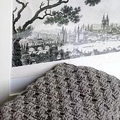 """Аксессуары ручной работы. Ярмарка Мастеров - ручная работа Снуд """"Soft grey"""". Handmade."""