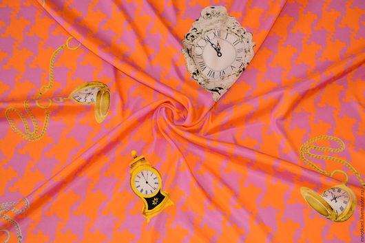 Шитье ручной работы. Ярмарка Мастеров - ручная работа. Купить Шелк Dolce&Gabbana. Handmade. Коллекционный, именная ткань, дольче габбана