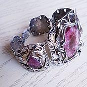 Украшения handmade. Livemaster - original item Bracelet with tourmalines. Handmade.