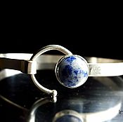 Украшения handmade. Livemaster - original item Men`s bracelet,sodalite Sky. Handmade.