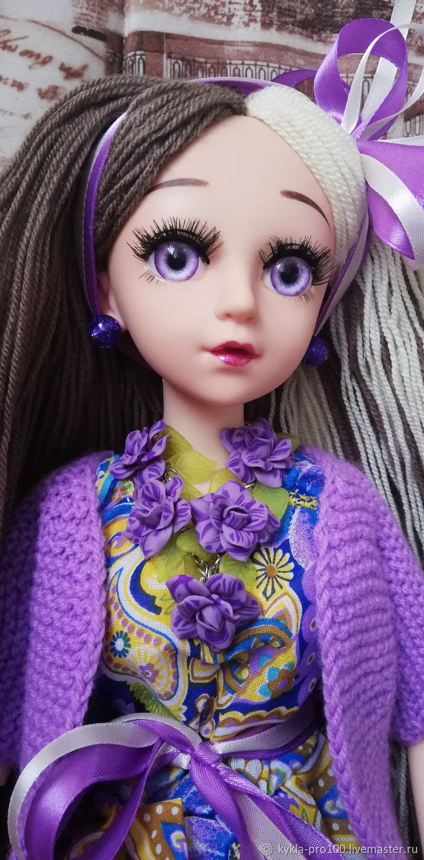 Виолетта, Шарнирная кукла, Коломна,  Фото №1