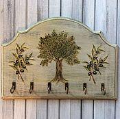 """Для дома и интерьера ручной работы. Ярмарка Мастеров - ручная работа Вешалка """"Olives"""". Handmade."""