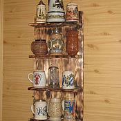 Для дома и интерьера ручной работы. Ярмарка Мастеров - ручная работа Полка интерьерная. Handmade.