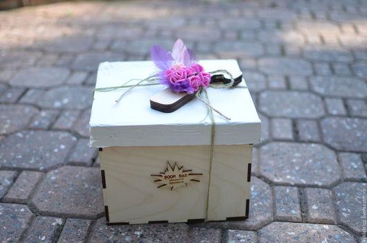 Персональные подарки ручной работы. Ярмарка Мастеров - ручная работа. Купить BOOM BoX - подарок который запомнится. Handmade. Комбинированный, фанера