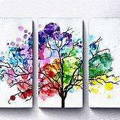 Картины и панно handmade. Livemaster - original item Pictures: Triptych