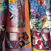 Одежда handmade. Livemaster - original item Wonderful patchwork jacket. Handmade.