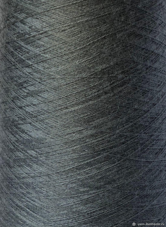 Пряжа Кашемир шёлк Jaipur серо-зеленый, Пряжа, Санкт-Петербург,  Фото №1