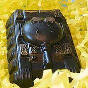 """Косметика ручной работы. Ярмарка Мастеров - ручная работа Мыло-скраб """"Танк"""". Handmade."""