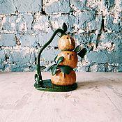 """Цветы и флористика ручной работы. Ярмарка Мастеров - ручная работа кашпо для суккулентов """"братья росточки"""". Handmade."""