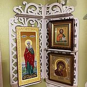 Для дома и интерьера handmade. Livemaster - original item Shelf for Large icons. Handmade.