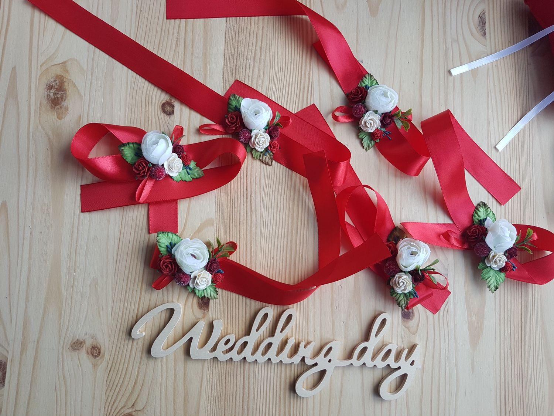 Свадебные украшения ручной работы. Ярмарка Мастеров - ручная работа. Купить Браслеты для подружек невесты. Handmade. Свадебные аксессуры