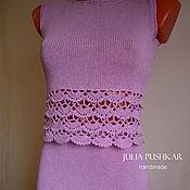 Одежда ручной работы. Ярмарка Мастеров - ручная работа Вязаное платье из кашемира.. Handmade.