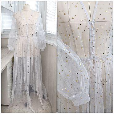 Свадебный салон ручной работы. Ярмарка Мастеров - ручная работа Будуарное платье «Алиса». Handmade.
