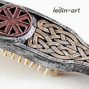 Русский стиль handmade. Livemaster - original item comb the pagan Rus`: Kolovrat. Handmade.