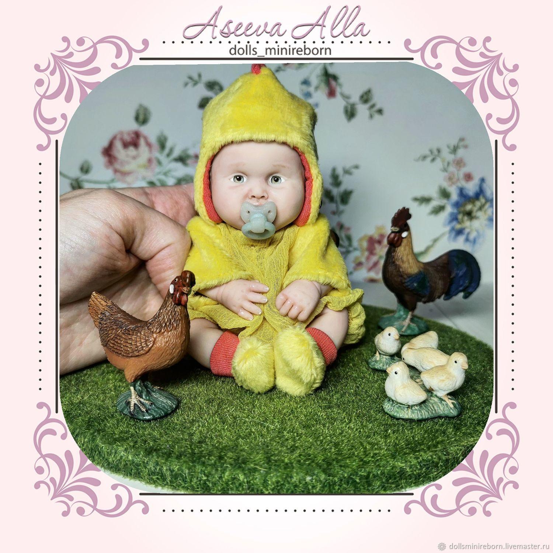 мини реборн цыпленок, Куклы Reborn, Красноярск,  Фото №1
