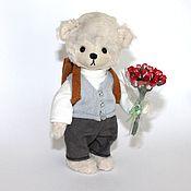 Куклы и игрушки ручной работы. Ярмарка Мастеров - ручная работа Школьник Оська. Handmade.
