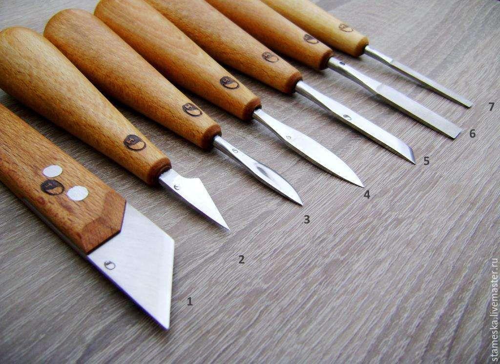 Ножи для резки дерева своими руками 67