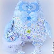 Куклы и игрушки ручной работы. Ярмарка Мастеров - ручная работа Сова игрушка Жених в бабочке. Handmade.