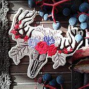 """Украшения ручной работы. Ярмарка Мастеров - ручная работа Программа машинной вышивки  """"Лесной олень"""". Handmade."""