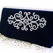 Сумки и аксессуары handmade. Livemaster - original item Handmade black evening handbag. Handmade.