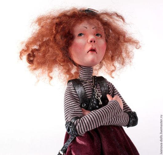 Коллекционные куклы ручной работы. Ярмарка Мастеров - ручная работа. Купить Авторская кукла. Нелетное настроение.. Handmade. Разноцветный, полет