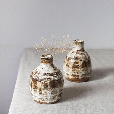 Для дома и интерьера ручной работы. Ярмарка Мастеров - ручная работа Вазы: небольшие вазы 12 см. Handmade.