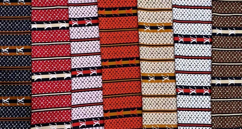 Ткань креп шелк в ассортименте, Ткани, Санкт-Петербург,  Фото №1
