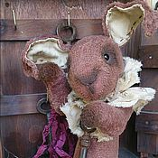 Куклы и игрушки ручной работы. Ярмарка Мастеров - ручная работа Тедди кролик  Бенджамин. Handmade.