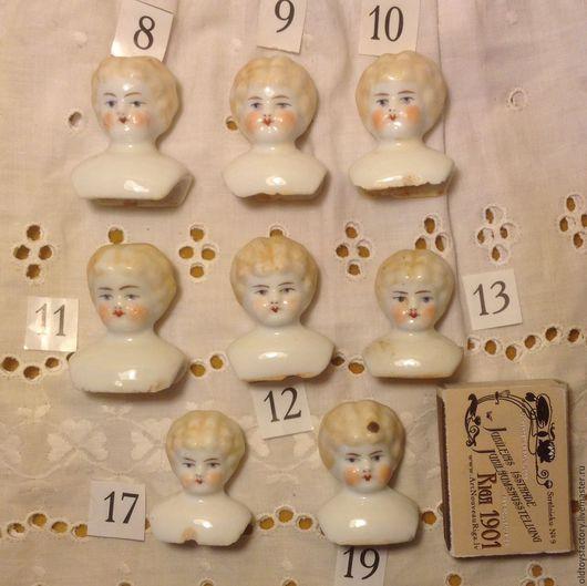 Фотография 1. Головки по 1200 рублей. У некоторых сколы на плечиках. Сами головки все целые. Остались головки 9, 11, 12, 13, 17, 19.