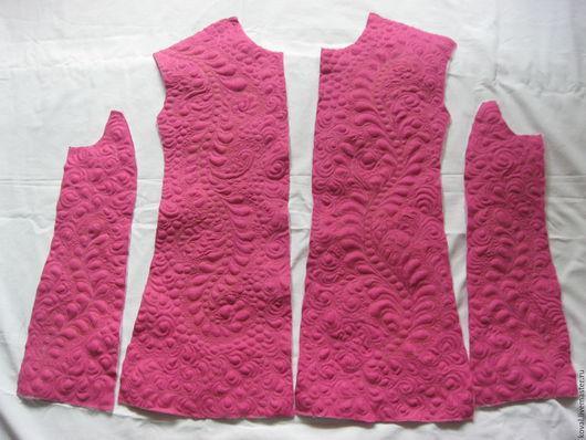 Пиджаки, жакеты ручной работы. Ярмарка Мастеров - ручная работа. Купить Машинная стёжка (квилтинг) деталей жакета. Handmade. Комбинированный