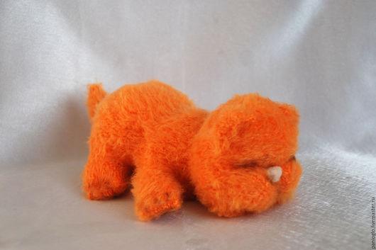 Игрушки животные, ручной работы. Ярмарка Мастеров - ручная работа. Купить новорожденный котенок. Handmade. Рыжий, подарок