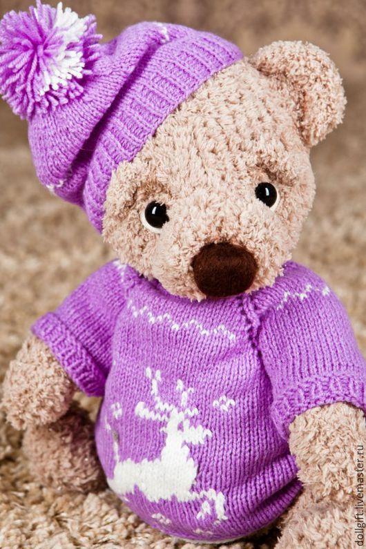 Куклы и игрушки ручной работы. Ярмарка Мастеров - ручная работа. Купить Медвежонок Бублик. Handmade. Мишка ручной работы