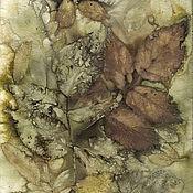 Картины и панно ручной работы. Ярмарка Мастеров - ручная работа Картина Осенние узоры. Handmade.