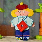 Куклы и игрушки ручной работы. Ярмарка Мастеров - ручная работа Кукла Викуля. Handmade.