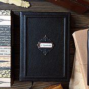 Канцелярские товары handmade. Livemaster - original item Personal Notebook Classic. Handmade.
