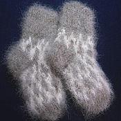 Аксессуары handmade. Livemaster - original item Children`s knitted socks. Handmade.